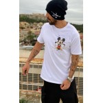 SIDE MICKEY WHITE T-shirt