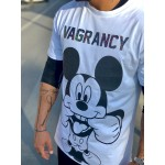 Silver Vagrancy Mickey T-shirt - Vagrancy lifestyle eshop for Casual men and women clothes
