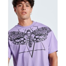 SKULL BUTTERFLY LILAC T-shirt