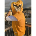 SKULL BUTTERFLY SLEEVELESS HOODIE - Vagrancy lifestyle eshop for Casual men and women clothes