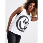SMILE Sleeveless Top - Vagrancy lifestyle eshop for Casual men and women clothes