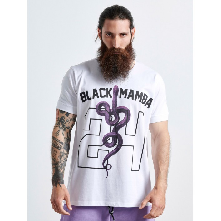 SNAKE BLACK MAMBA T-SHIRT  - Vagrancy lifestyle eshop for Casual men and women clothes