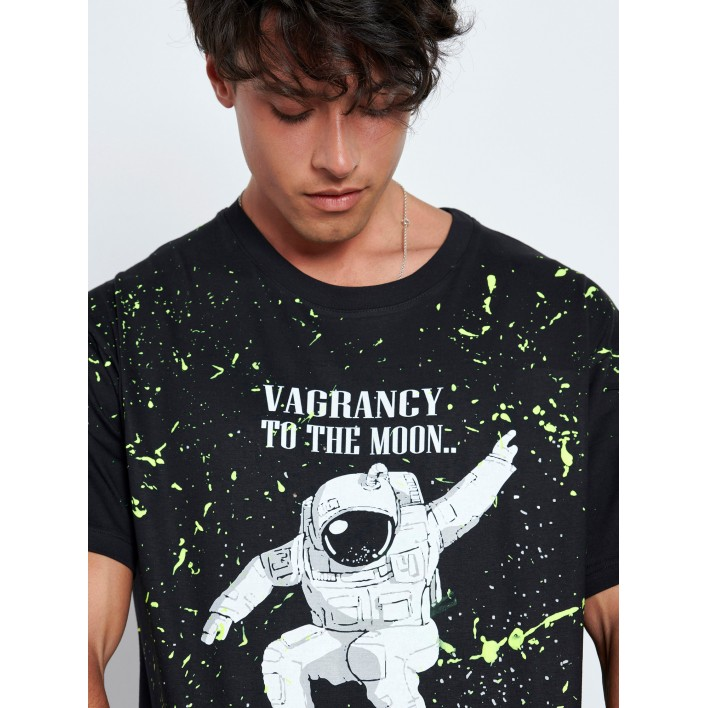 SPACE HANDMADE T-SHIRT - Vagrancy lifestyle eshop for Casual men and women clothes