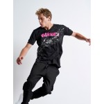 Splashed Fuchsia Vagrancy T-shirt - Vagrancy lifestyle eshop for Casual men and women clothes