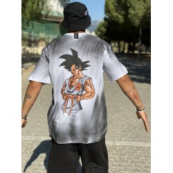 SPRAY DRAGONBALL T-shirt - Vagrancy lifestyle eshop for Casual men and women clothes