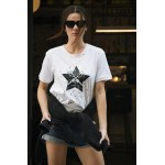 STAR GUNS  WHITE T-shirt - Vagrancy lifestyle eshop for Casual men and women clothes