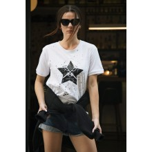 STAR  WHITE T-shirt