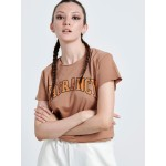 VAGRANCY BROWN WOMAN T-shirt - Vagrancy lifestyle eshop for Casual men and women clothes