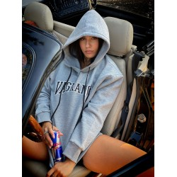 VAGRANCY GREY HOODIE - Vagrancy lifestyle eshop for Casual men and women clothes