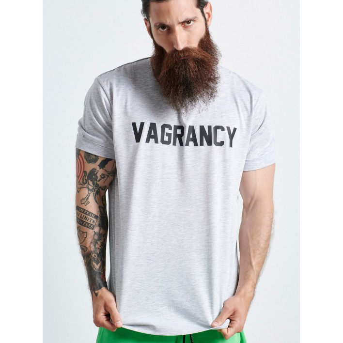 VAGRANCY GREY T-SHIRT - Vagrancy lifestyle eshop for Casual men and women clothes