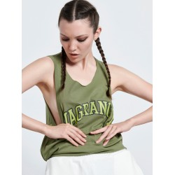 VAGRANCY OLIVE Sleeveless Top - Vagrancy lifestyle eshop for Casual men and women clothes