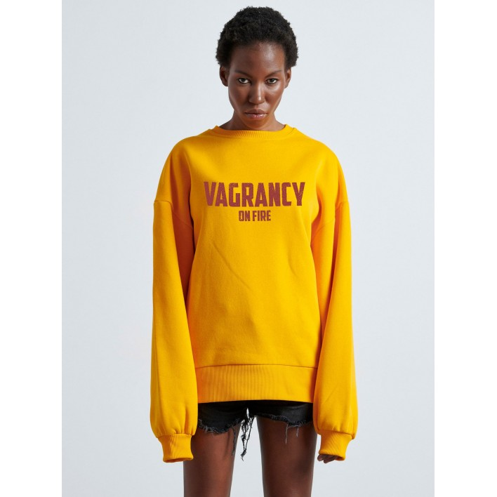 VAGRANCY ON FIRE Woman SWEATER - Vagrancy lifestyle eshop for Casual men and women clothes
