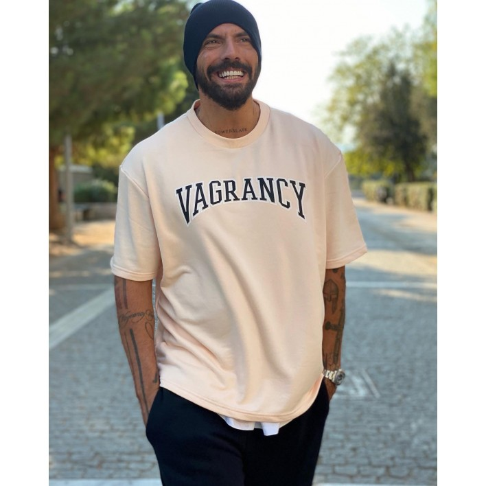 VAGRANCY PINK SHORT SLEEVE SWEATER - Vagrancy lifestyle eshop for Casual men and women clothes