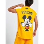 YELLOW PSYCHO MICKEY  - Vagrancy lifestyle eshop for Casual men and women clothes