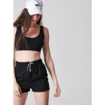 Vagrancy Ribboned Shorts - Vagrancy lifestyle eshop for Casual men and women clothes