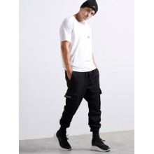 Black Side Pockets Jeans