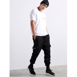 Black Side Pockets Jeans | Vagrancy lifestyle eshop for Casual Clothes