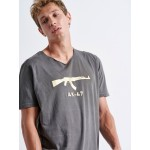 GOLD AK-47 T-shirt - Vagrancy lifestyle eshop for Casual men and women clothes