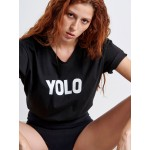 YOLO Woman T-shirt - Vagrancy lifestyle eshop for Casual men and women clothes