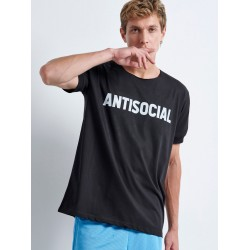 ANTISOCIAL T-shirt | Vagrancy lifestyle eshop for Casual Clothes