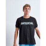 ANTISOCIAL T-shirt | Vagrancy lifestyle eshop για Casual Ρούχα