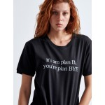 Plan BYE Woman T-shirt - Vagrancy lifestyle eshop for Casual men and women clothes