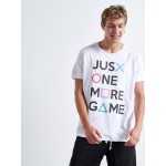 ONE MORE GAME T-shirt - Vagrancy lifestyle eshop για Casual ανδρικά και γυναικεία Ρούχα