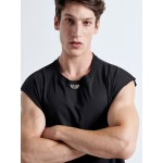 Metal Sleeveless BLACK | Vagrancy lifestyle eshop for Casual Clothes