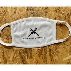 GUNS WHITE MASK - Vagrancy lifestyle eshop for Casual men and women clothes