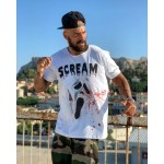 SCREAM T-shirt | Vagrancy lifestyle eshop για Casual ανδρικά και γυναικεία Ρούχα