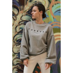 FOREVER GREY Φούτερ - Vagrancy lifestyle eshop for Casual men and women clothes