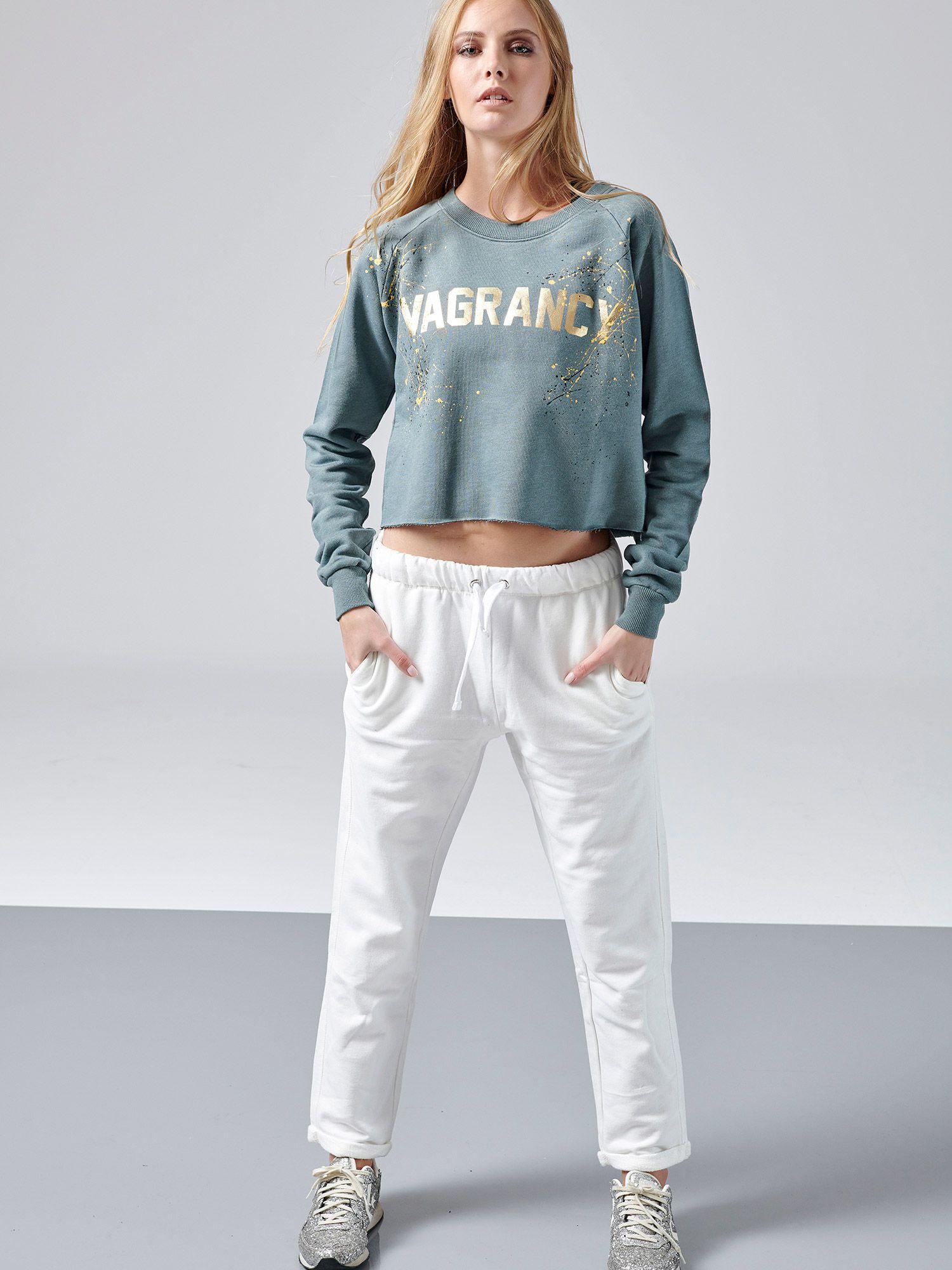 d866bddf55 VagrancyLifestyle cotton creme pants