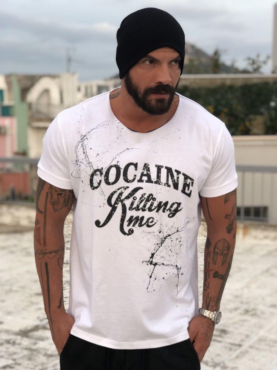 Splashed Cocaine T-shirt
