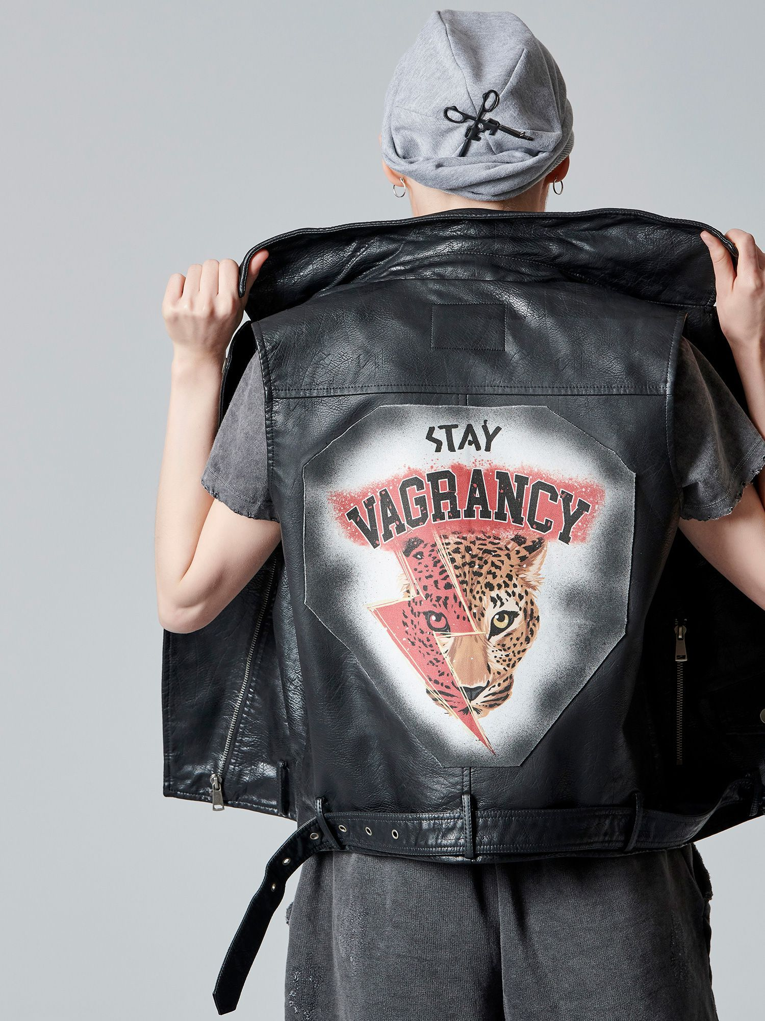 Stay Vagrancy Leather Jacket
