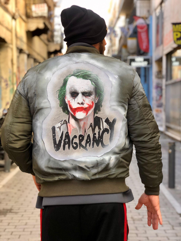 Handmade Joker Bomber