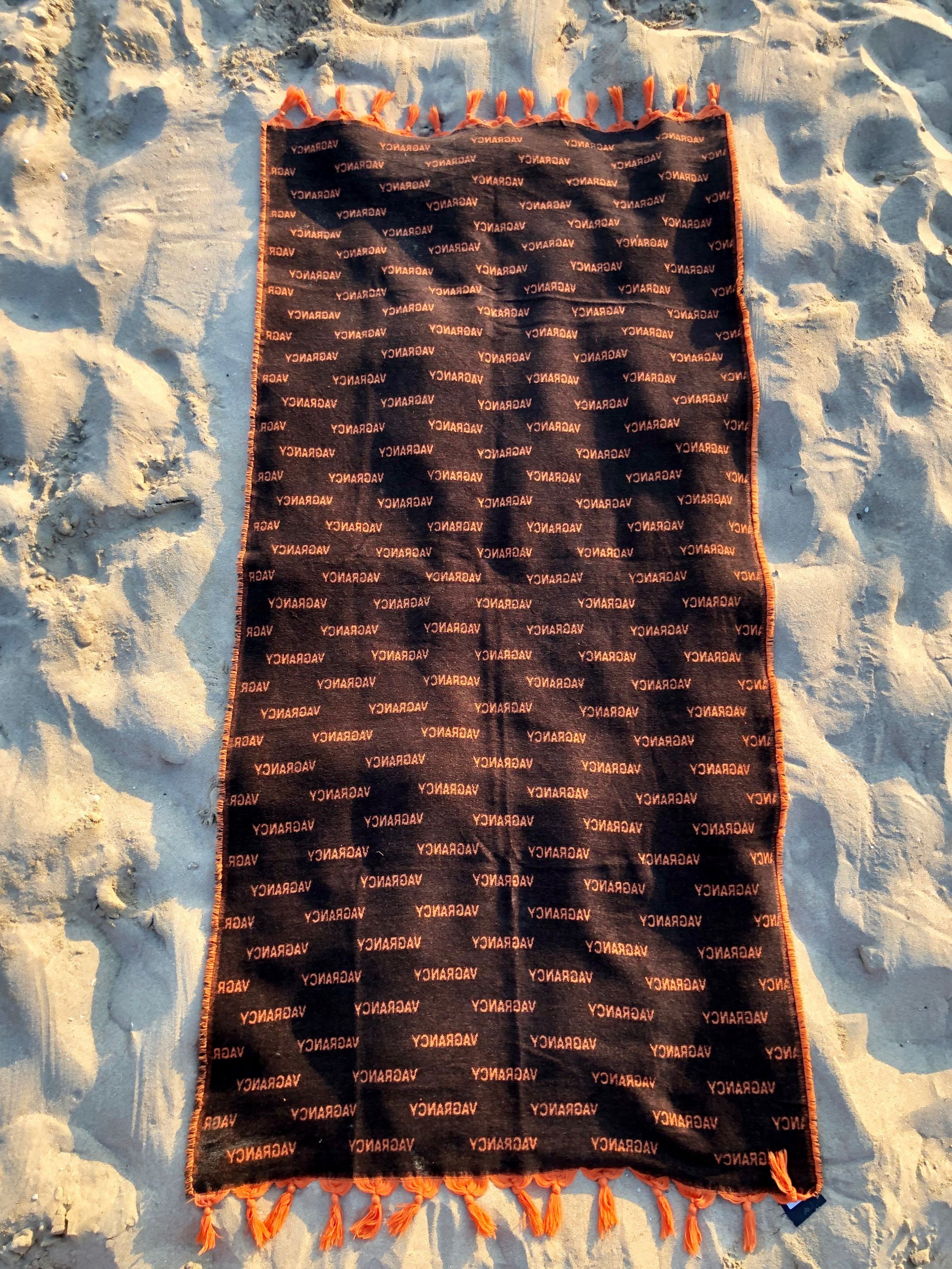 Beach Towel Allover Vagrancy