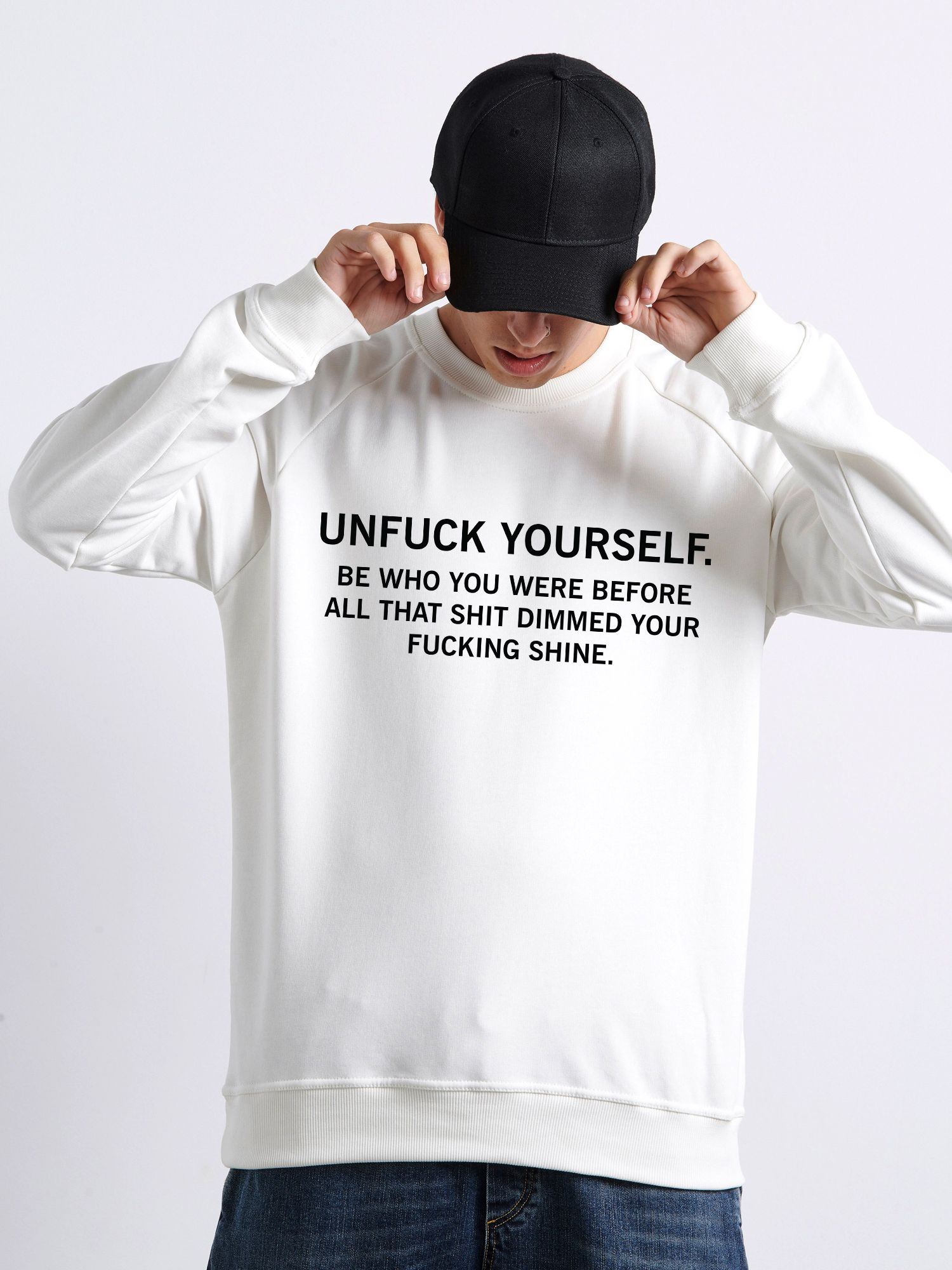 UNF* YOURSELF Φούτερ