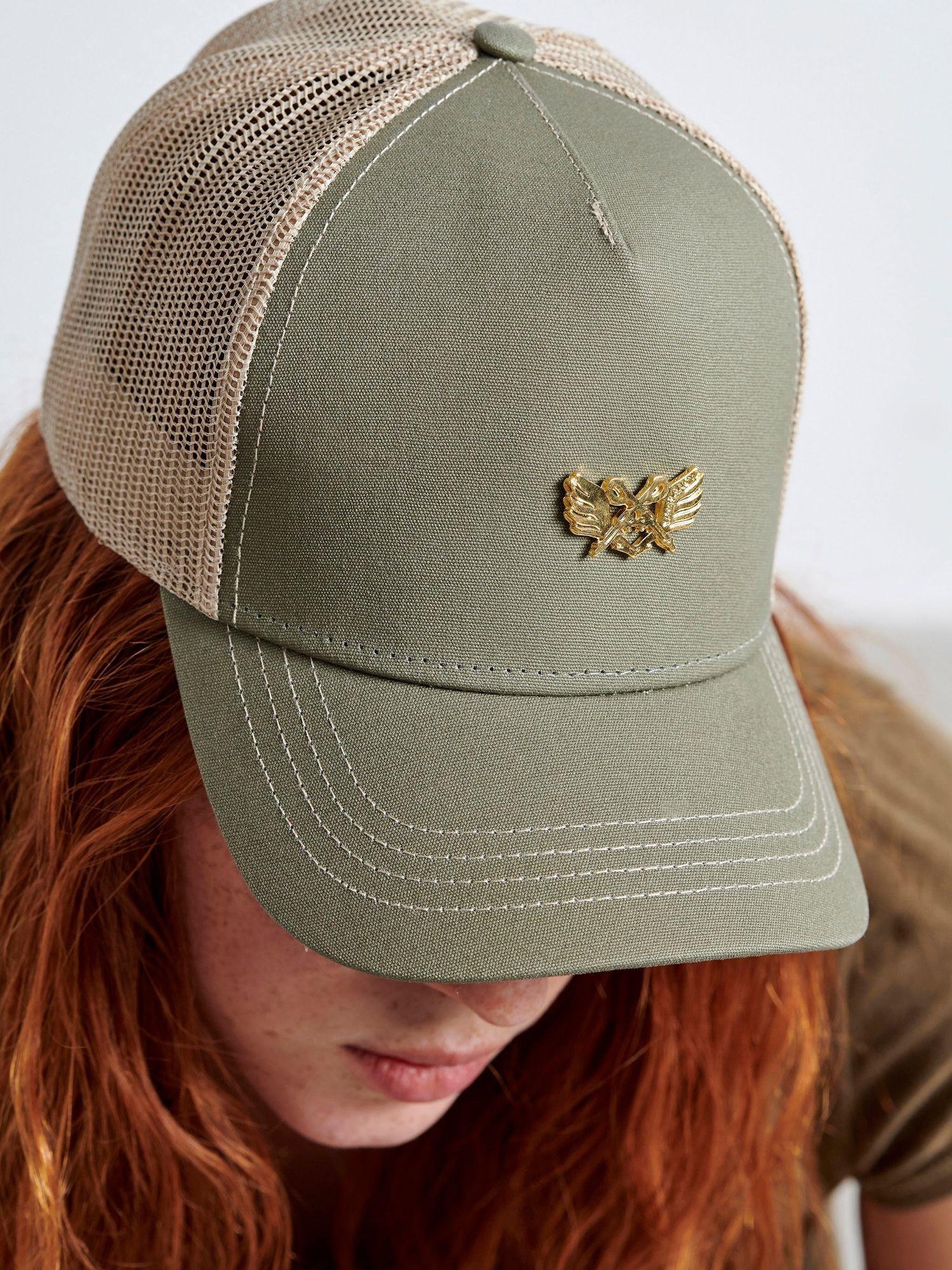 Gold Guns Khaki Cap