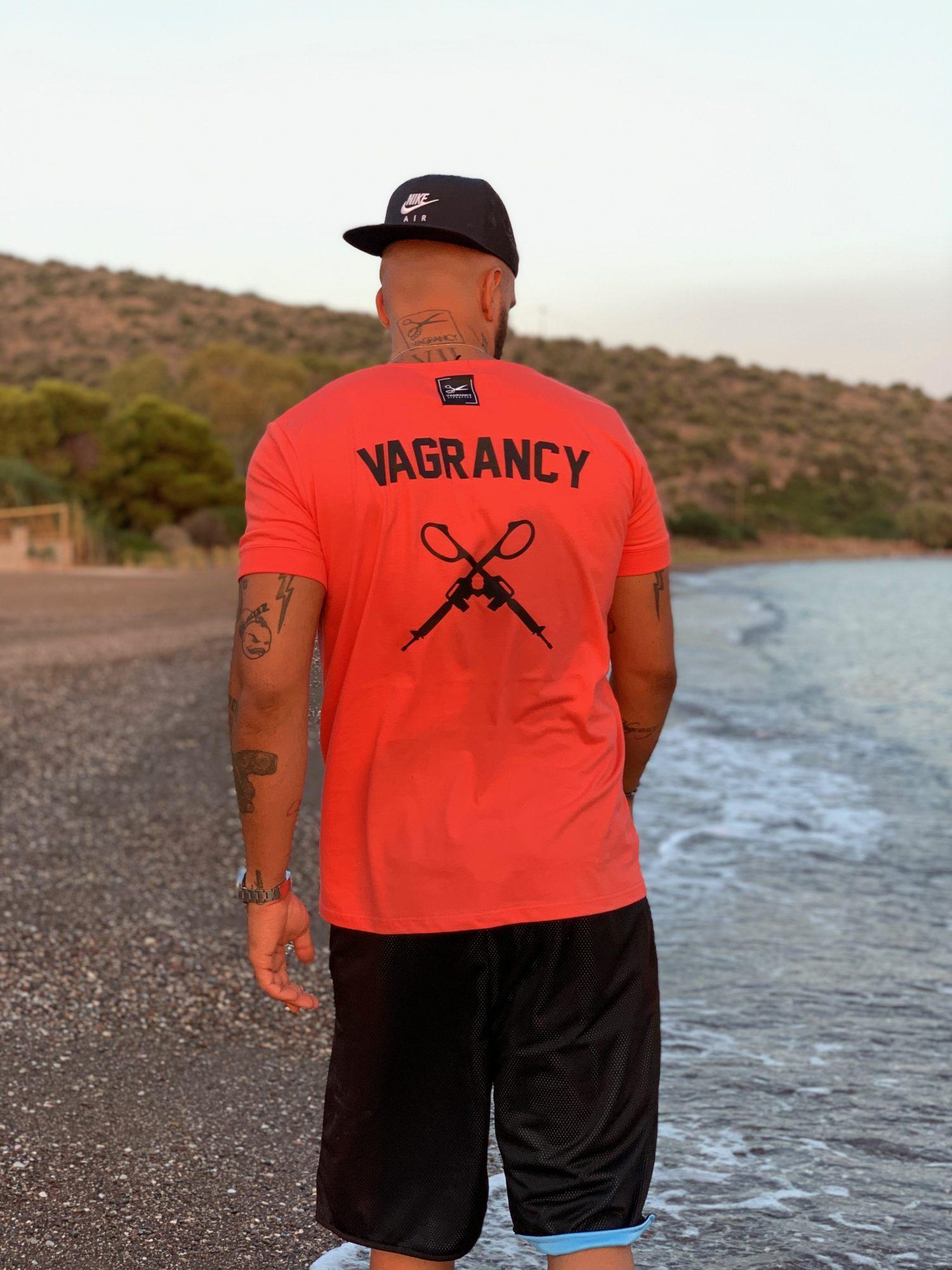 Back Vagrancy Guns T-shirt