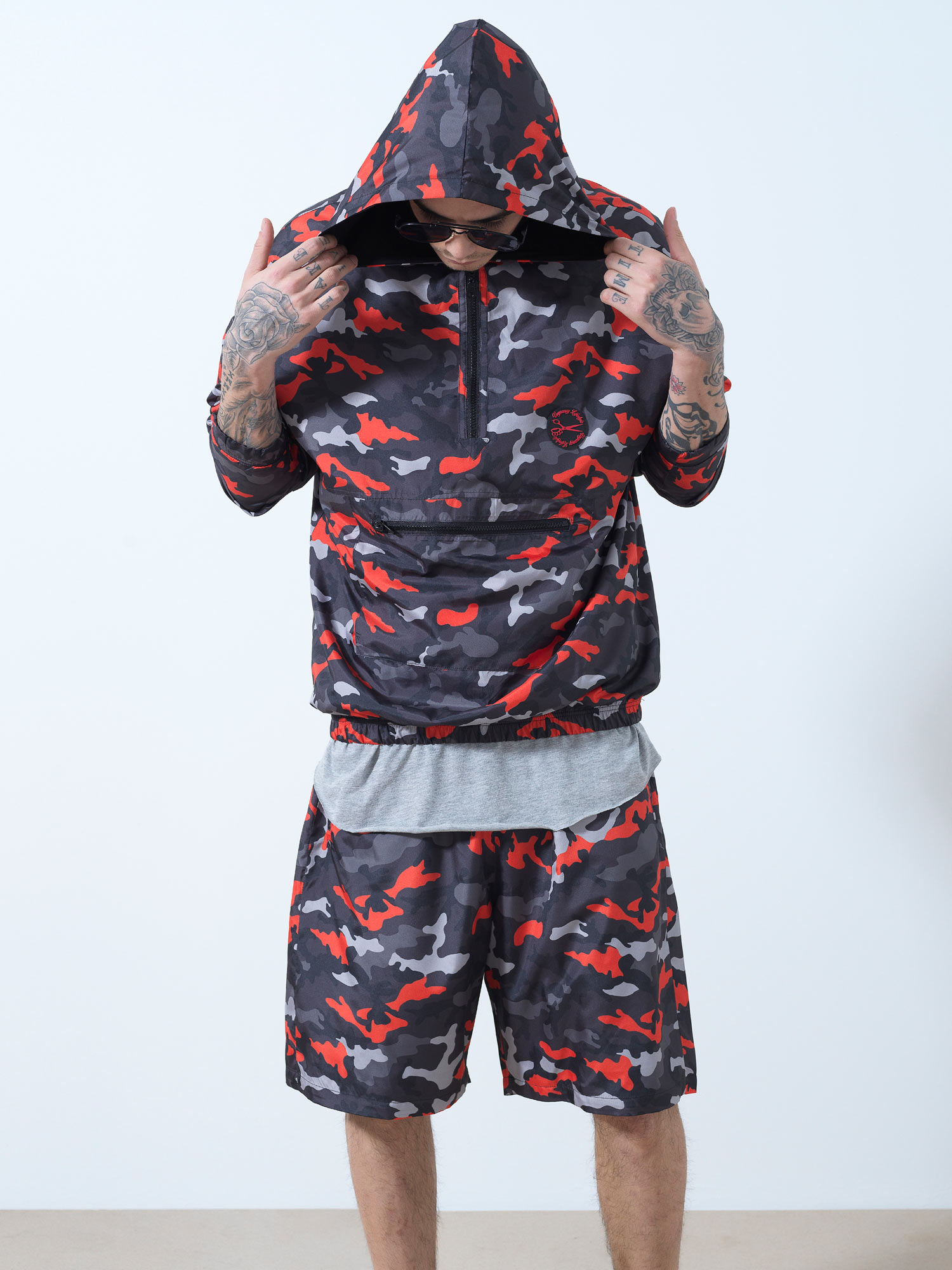 Camo Army Shorts