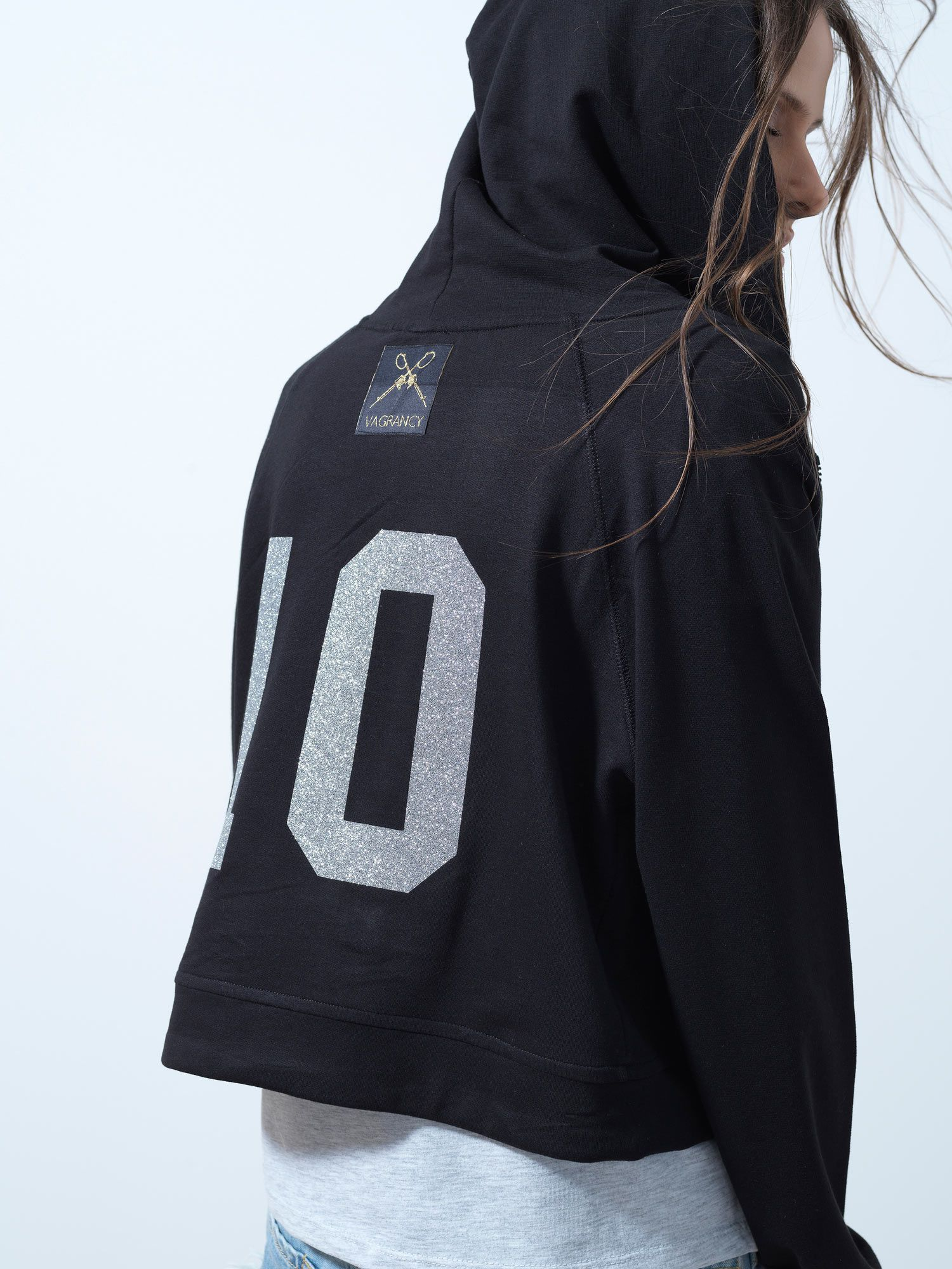 Silver 10 Black Jacket