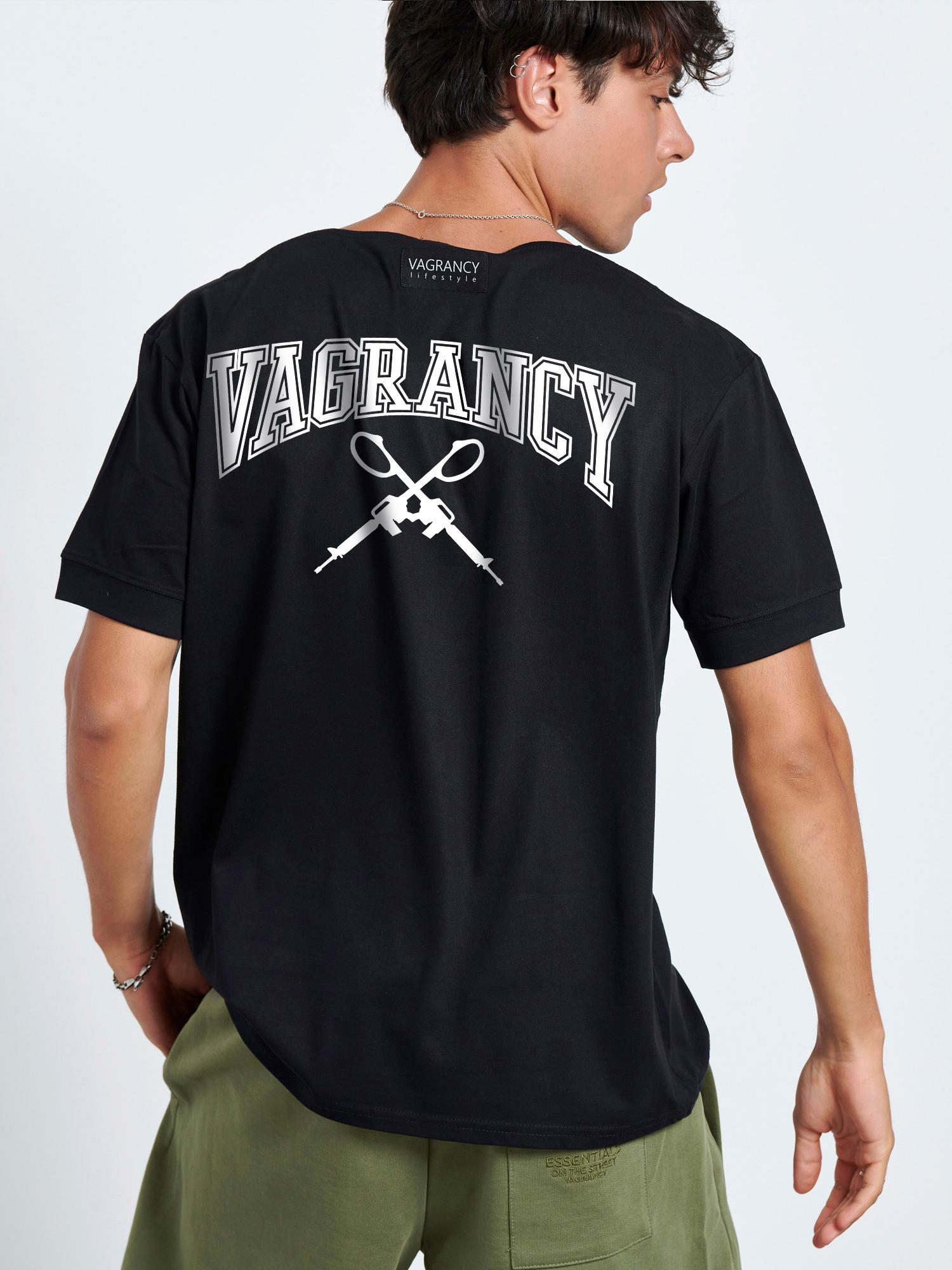 VAGRANCY BACK GUNS T-SHIRT